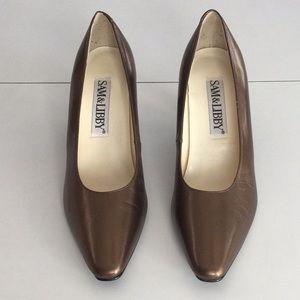 Sam & Libby Leather Heels
